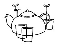 Les trois thés